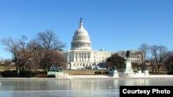 Capitol Hill (congress) building in Washington, DC. (Diaa Bekheet/VOA)