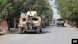افغان ځواکونه په کندز ښار کې تر عملیاتو وروسته