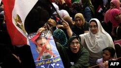 Các cuộc biểu tình rầm rộ tiếp tục diễn ra ở thủ đô Cairo sang tới ngày thứ tư liên tiếp đòi Tổng thống Ai Cập Mohamed Morsi từ chức.
