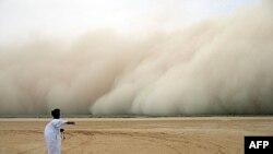 撒哈拉地区的沙尘暴