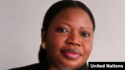 Fatou Bensouda,mwendesha mashtaka mkuu wa ICC huko The Haque