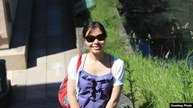 Chị Trần Thị Hiên - cựu du học sinh tại Pháp - tác giả của cuốn