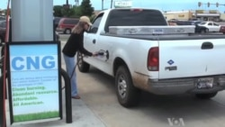 Companies Try Natural Gas to Fuel Vehicles