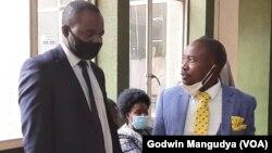 Harare Mayor Jacob Mafume and Lawyer Tonderai Bhatasara