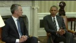 Обама та генсек НАТО розповіли, як саме підтримають Україну. Відео