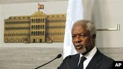 ທູດພິເສດຂອງອົງການສະຫະປະຊາຊາດທ່ານ Kofi Annan ເຕືອນວ່າ ຄວາມຫລົ້ມແຫລວໃນການແກ້ໄຂວິກິດການ ໃນຊີເຣຍ ອາດພາໃຫ້ເກີດຜົນທີ່ຕິດຕາມມາທີ່ຄາດຄະເນບໍ່ໄດ້.