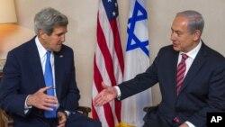 Джон Керри и Биньямин Нетаньяху. Иерусалим, Израиль. 9 апреля 2013 года