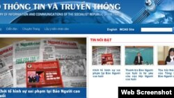 The newspaper, Nguoi Cao Tuoi, must take down its website and fire its editor-in-chief, according to a Ministry of Information and Communications online statement, file image.
