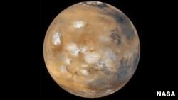 Planet Mars, yang disebut juga Planet Merah. (Foto: Dok)