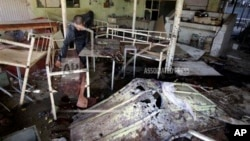 被炸毀的咖啡廳