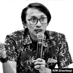 Peneliti ICW Wana Alamsyah. (Foto: Coutesy/ICW)