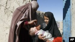 Tens of thousands of Afghan children in insecure areas may miss out on polio immunizations due to controls by Islamic militants.