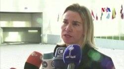 EU lo ngại về hành động quân sự của Nga ở Syria