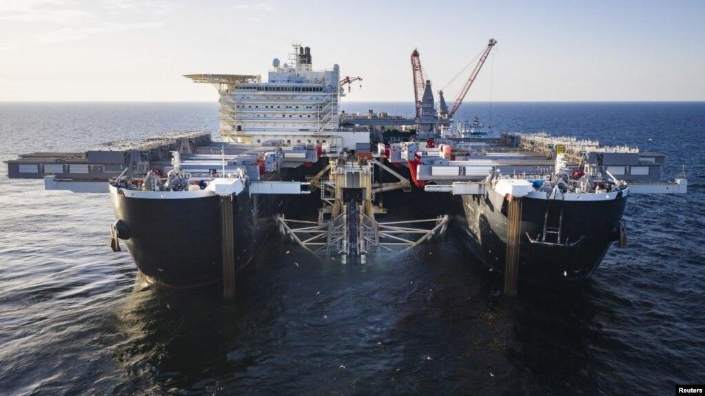 Gjatë punës për shtrirjen e tubacionit të gazsjellësit rus Nord Stream 2