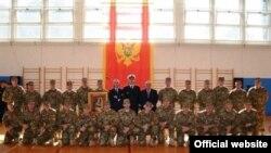 Ispraćaj IX kontingenta Vojske Crne Gore u misiju ISAF u Avganistanu