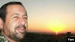 عزت الله سلیمانی از فرماندهان سپاه که در سوریه کشته شده است.