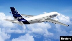 Một chiếc máy bay của A350 của Airbus. Hiện chưa rõ ngay là Bamboo Airways thuê những loại máy bay nào.