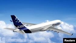 Máy bay A350 của Airbus.
