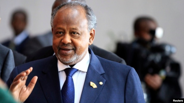 FILE - Djibouti's President Ismail Omar Guelleh.