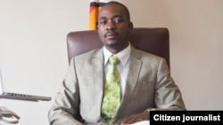 Nelson Chamisa MDC-T Vice President