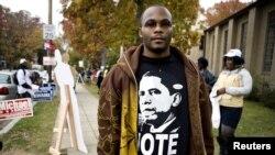 خراب اقتصادی حالات کے با وجود، بہت سے سیاہ فام ووٹر صدر اوباما کی کارکردگی کی تعریف کرتے ہیں۔