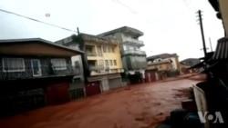 Inondations mortelles en Sierra Leone (vidéo)