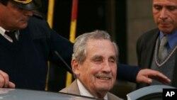 Nhà độc tài Uruguay, Tướng Gregorio Alvarez, ngày 05/11/2007.