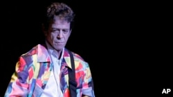 Lou Reed performing at Carnegie Hall in New York in 2007.