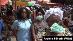 Des avis mitigés à Brazzaville sur le futur vaccin anti-Covid, à Brazzaville, le 19 novembre 2020. (VOA/Arsène Séverin)