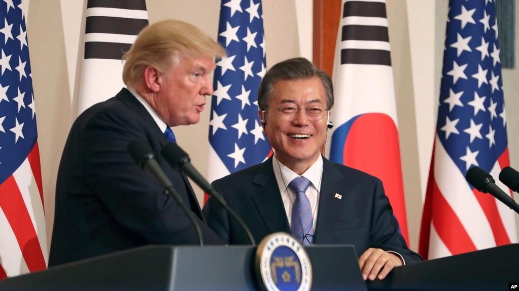 Presidenti Trump, mesazh vendosmërie në Korenë e Jugut