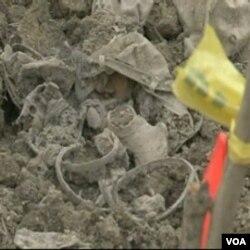 Ostaci ljudskog tijela i lični predmeti pronadjeni u koritu jezera Perućac na Drini