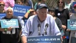 2016-06-06 美國之音視頻新聞: 對克林頓桑德斯支持者來說 個人因素決定取舍