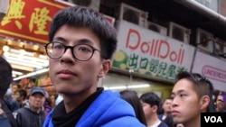 香港本土民主前線發言人黃台仰 (美國之音湯惠芸) (資料照片)