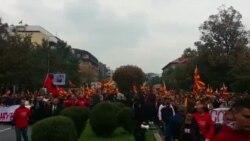 Заврши граѓанскиот марш во Скопје