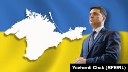 Президент Украины Владимир Зеленский. Архивный коллаж