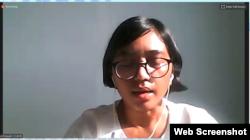 Pegiat hukum YLBHI, Asfinati. (Foto: screenshot)