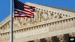 미국 수도 워싱턴의 연방대법원 건물. 연방대법원은 13일 인간의 DNA는 특허 대상이 될 수 없다고 판결했다. (자료사진)