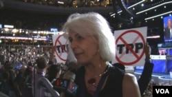 Danica Oparnica, superdelegat Demokratskog nacionalnog komiteta, je unuka imigranta iz Like.