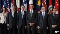 Барак Обама среди участников саммита APEC