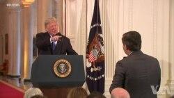 年终报道: 争论不休: 总统与媒体的2018