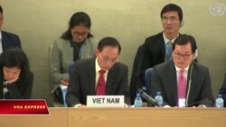 Việt Nam khoe 'được khen' về nhân quyền