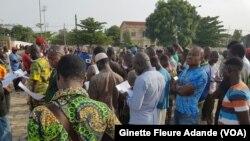 Ginette Fleure Adande, correspondante à Cotonou pour VOA Afrique