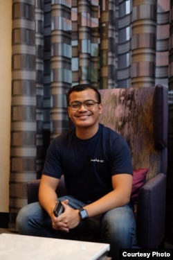 Aldwin Yusgiantoro, mahasiswa S2 George Washington University di Washington, D.C. (dok: Aldwin Yusgiantoro)