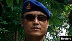 FILE - Cambodian military police commander Sao Sokha is seen in a July 19, 2008, photo.