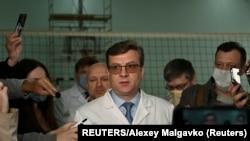 ARHIVA - Aleksandar Murakovski, načelnik bolnice u kojoj je Aleksej Navalni dobio medicinski tretman.