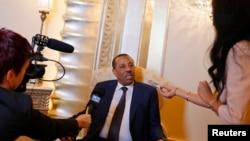 利比亞新總理塞尼。