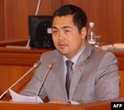 Daniyar Terbishaliev, sotsial demokrat, parlamentda Adliya masalalari bo'yicha qo'mita raisi muovini