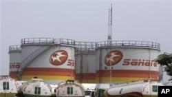 Kho dầu ở Lagos, Nigeria