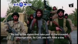 VOA60 America - Islamic State militants released a new video threatening Washington D.C. with terror attacks