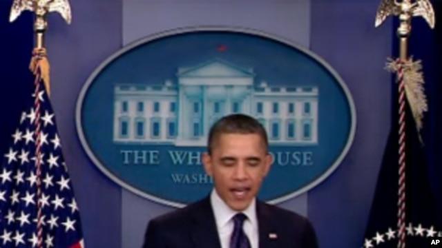 Obama, Congress, vote, Dec 23, 2011